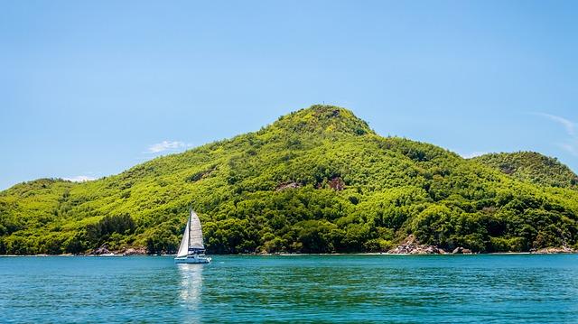 Les Seychelles yacht